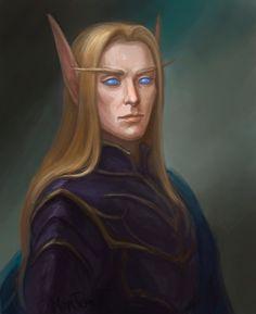M eladrin wizard sorcerer warlock Elves Fantasy, New Fantasy, Fantasy Images, World Of Warcraft Characters, Dnd Characters, Character Portraits, Character Art, Wow Elf, Dnd Elves