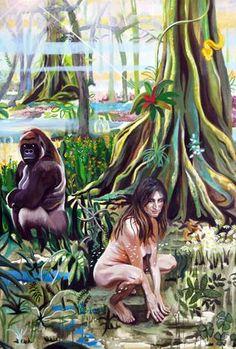"""Em uma investigação sobre o tema """"Paraíso"""", a artista apresenta suas obras no Espaço Nadir Kfouri, com entrada Catraca Livre"""