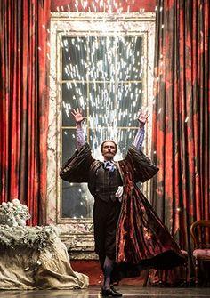 Valentin Olovyannikov as Drosselmeyer in Birmingham Royal Ballet's Nutcracker; photo: Bill Cooper