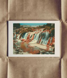 The Waterfall, 18 X 24 cm on A4 - Find it here: http://shop.palegrain.com/product/the-waterfall-small - #limitededition #print #photography #interior #interiör #sweden #gothenburg #palegrain