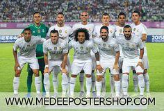Real Madrid Full Team 2016