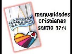 Manualidades para la EBV 2015, porta notas de cartón, manualidades cristianas. - YouTube
