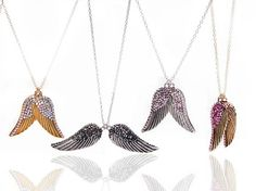 angel wing necklaces
