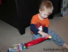 Button Snake for Toddlers