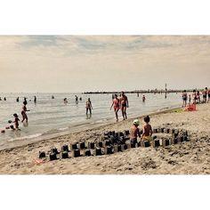#grado #italy #summer #sun #sandcastle