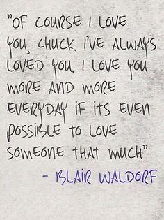 chuck and blair   Tumblr