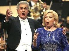 Placido Domingo and Mirella Freni