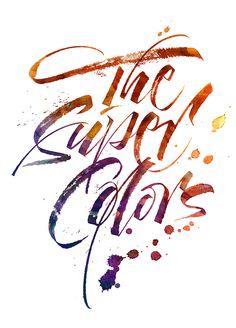 The Super Colors. T-shirt prints. by José Joaquín Domínguez