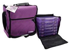 Art Bin - Mega Tote - Purple at Scrapbook.com $36.99