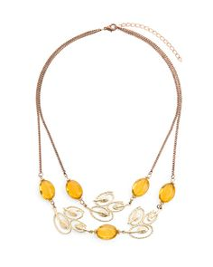 The Falling Leaves Necklace by JewelMint.com, $29.99