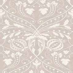 Designed by decorative painter Adam Calkin, this sweeping design was inspired by a fragment of fresco wall painting found in a French chateau. Metallic Wallpaper, Wood Wallpaper, Damask Wallpaper, Wallpaper Samples, Textured Wallpaper, Pattern Wallpaper, Vinyl Backdrops, Made To Measure Curtains, Traditional Wallpaper