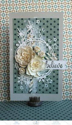Riikka Kovasin - Paperiliitin: Believe - GDT Elizabeth Craft Designs