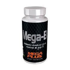 MEGA B COMPLEX 60 Cápsulas de 710 mg. 10,80 € Las vitaminas B conocidas también con el nombre de complejo vitamínico B, son sustancias frágiles, solubles en agua, QUE FUNCIONAN EN EL ORGANISMO COMO UN GRUPO DE VITAMINAS ESENCIALES para metabolizar los hidratos de carbono (energizantes), asi como un factor decisivo en el metabolismo de las grasas y proteínas. INGREDIENTES: Aceite de girasol, gelatina, ascorbato cálcico, glucosa, aceite de soja, glicerina, lecitina de soja, vitamina E…