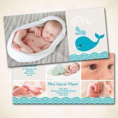 verspielte Geburtskarte