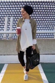 45ba455ad72 cool Dina Tokio... by www.newfashiontre... Hijab Fashion Casual
