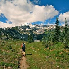 Three great ways to learn about the Wonderland Trail from the woman who literally wrote the book on the 93-mile trail around Mount Rainier. #backpacking #epic #trails