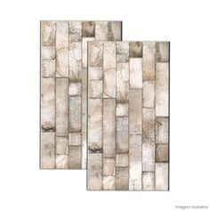 Revestimento Inserto Brick 32x59cm natural Incepa - Telhanorte - Preço por m² R$ 66,90 na Telha Norte em 30/03/15.