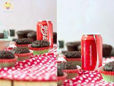 muffinki z coca colą Coca Cola, Desserts, Food, Tailgate Desserts, Deserts, Coke, Essen, Postres, Meals
