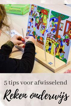 5 Tips voor afwisselend rekenonderwijs | Klas van juf Linda Education, School, Counting, Tips, Fun, Onderwijs, Learning, Hilarious, Counseling