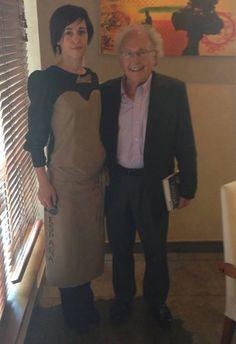 Eduard Punset en el #Restaurante de nuestro chef ejecutivo Héctor López #RestauranteEspaña
