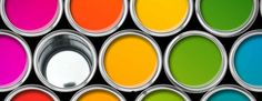 Paint tin color palette, cans opened top view black background Stock Photo Different Types Of Painting, Paint Types, Painted Tin Cans, Paint Cans, Image Painting, Professional Painters, Cool Paintings, Paint Finishes, Over The Rainbow