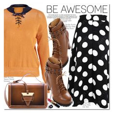 """""""Be Awesome"""" by oshint ❤ liked on Polyvore featuring WALL and Chanel"""