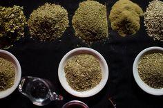 variedades de yerba para degustar por la sommelier Valeria Trapaga