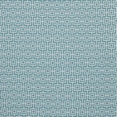 Rumpus: Warwick Fabric: Example of fabric to cover Ottoman in rumpus room