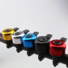 Maniac deriva de Aleación de Aluminio de Campana de La Bicicleta Campana Bicicleta Bicicleta Accesorios de La Bicicleta Del Manillar Del Anillo de Sonido Resonante 5 Color Opcional