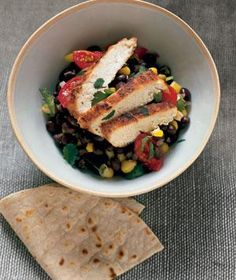 Cumin Chicken With Black Beans | RealSimple.com