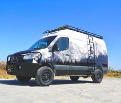 You're not showing a 2019 front Fox shock add-on kit on your website. Sprinter Van, Mercedes Sprinter Camper, Diy Truck Interior, Airstream Interior, Combi Hippie, 4x4 Camper Van, Chevy Vehicles, Truck Stickers, Van Design