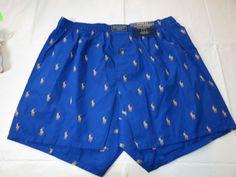 Polo Ralph Lauren underwear men's classic fit boxer shorts logo M R382HR blue ye #PoloRalphLauren #ClassicFitBoxershorts