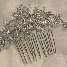 Antique hair comb