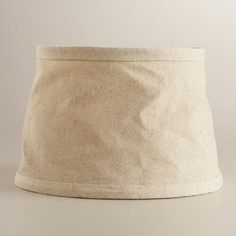 One of my favorite discoveries at WorldMarket.com: Collapsible Canvas Accent Lamp Shade