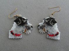 Beaded Parson Jack Russell Terrier by DsBeadedCrochetedEtc on Etsy