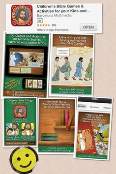 <3 Children's Bible Games & Activities for your Kids and...  one of my very favorite apps!! :D