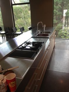 New Stainless Steel Kitchen Countertops