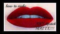 ΠΩΣ ΝΑ ΚΑΝΕΤΕ ΟΠΟΙΟΔΗΠΟΤΕ ΚΡΑΓΙΟΝ MATTE!!!