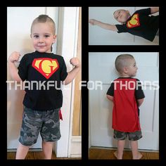 Custom SuperShirt in baby, toddler, and kid's sizes