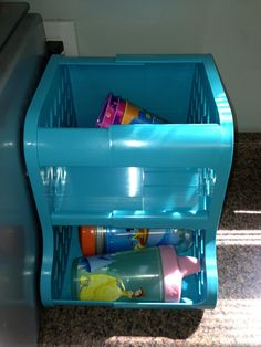 Universal Baby Bottle and Sippy Cup Organizer