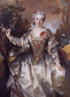 Comtesse de Montchal  by Nicolas de Largillière, early 1700's France