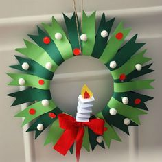 25 Winter Wreath Crafts For Kids – Play Ideas Kids Crafts, Christmas Crafts For Kids, Christmas Activities, Christmas Projects, Simple Christmas, Holiday Crafts, Christmas Holidays, Christmas Wreaths, Christmas Ornaments