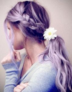 Lavender Hair. ::inspired::