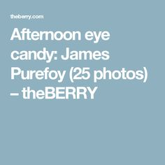 Afternoon eye candy: James Purefoy (25 photos) – theBERRY