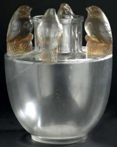 R. Lalique Vase Bellecour Art Nouveau, Art Deco, Lalique Jewelry, Lalique Perfume Bottle, Chandeliers, Vases, Glass Ceramic, Art Object, French Art