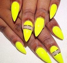 paznokcie żelowe żółte - Szukaj w Google