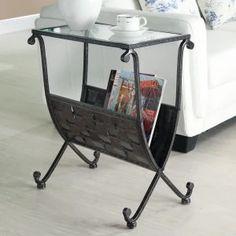 Home Magazine Tables on Hayneedle - Magazine End Tables