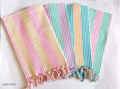 Hand & Face Towels Beautiful Cotton Bath  Towels (pack of 4) Fabric: Cotton Size (L X B): 30 in X 60 in Description: It Has 4 Piece Of Bath Towel Work : Checkered Country of Origin: India Sizes Available: Free Size *Proof of Safe Delivery! Click to know on Safety Standards of Delivery Partners- https://ltl.sh/y_nZrAV3  Catalog Rating: ★4.2 (701)  Catalog Name: Elegant Beauitiful Cotton Bath Towels Vol 11 CatalogID_266422 C71-SC1113 Code: 894-2014970-