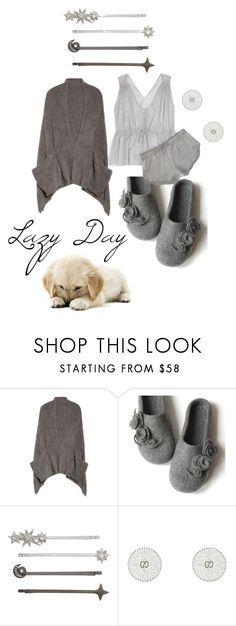 """LAZY DAY"" by michelle858 ❤ liked on Polyvore featuring Barefoot Dreams, Henri Bendel, Gucci and LazyDay"