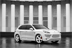 Porsche Cayenne Vantage GTR 2 White and White